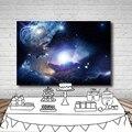 Звездное небо с пересекающимися мигающими звездами пространство фон для фотосъемки по индивидуальному заказу фон для фотосъемки с изображ...