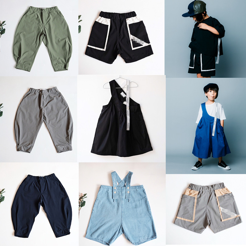 Kids Harem Pants New Summer NX Japan Design Boys Casual Baby Clothing Jeans Girls Trousers Children Sport Pants Toddler Overall 1