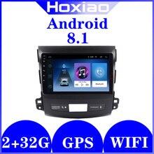 2 דין אנדרואיד רדיו עבור מיצובישי הנכרי 2006 2014/Peugeot 4007 1G/2G RAM GPS BT ניווט אוטומטי DVD לרכב מולטימדיה נגן