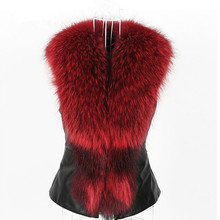 Elegant fall 2019 festival Faux Fur Crop vest outwear winter sleeveless faux fur coat streetwear fluffy plus size fake