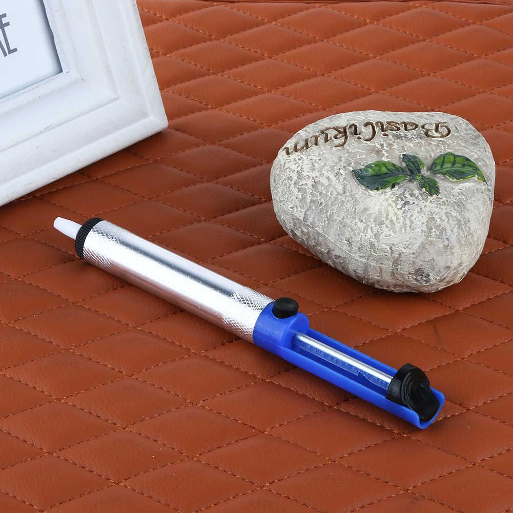 إزالة أداة لحام المهنية ديسولديرينغ مضخة شبه الألومنيوم شفط القصدير المصاصون بندقية سبيكة لحام القلم طقم أدوات يدوية