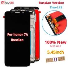 Huawei onur için 7A LCD ekran dokunmatik ekran yeni Digitizer meclisi değiştirme Huawei onur 7A rus versiyonu DUA L22 5.45