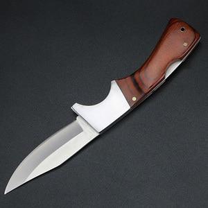 Image 4 - XUAN FENG уличный охотничий нож, нож для выживания, походный тактический нож, охотничий нож, стальной складной нож высокой твердости