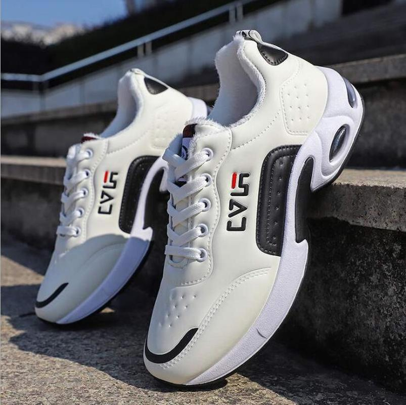 Sneakers For Boys Shallow Fashion Wedge Vulcanize Shoes Men Wear resistant  Non slip Casual Shoes