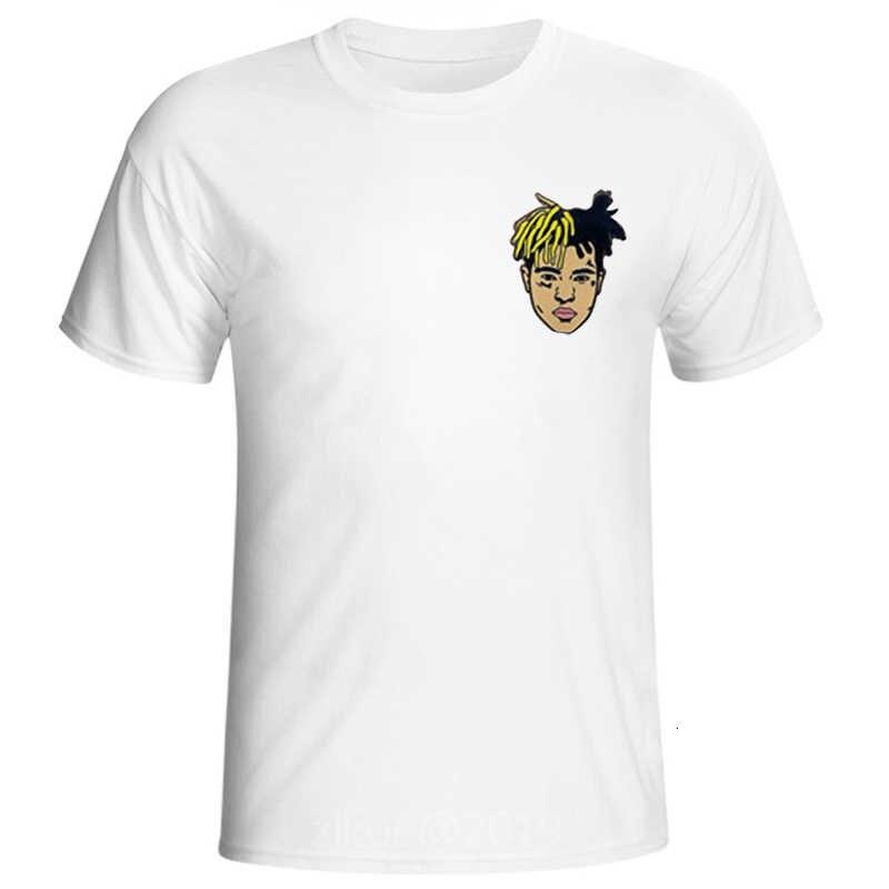 2019 neueste Mode Mann T-shirt Xxxtentacion Sommer Mode T-shirt Casual Weiß Lustige Cartoon Print T-shirt Hip Pop Tops t