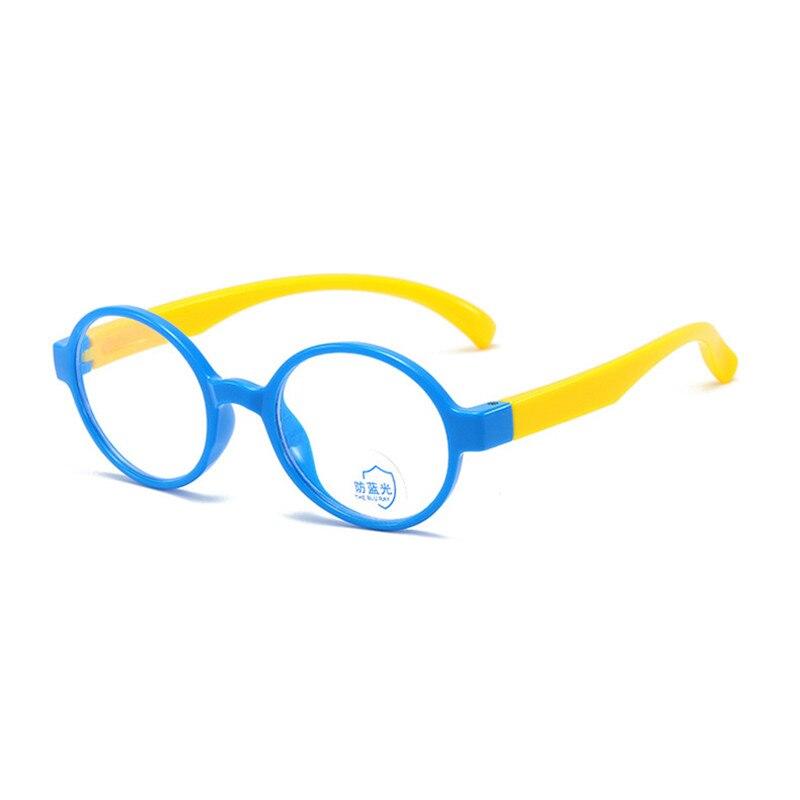 2020 Round Anti Blue Light Glasses Frame Kids Oculos Girls Eyeglasses Vintage Design Clear Computer Child Spectacle Eyewear Boys