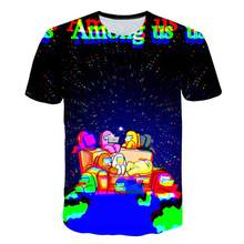 Boys t-shirt Among us game Multicolor T Shirt Kids Cartoon anime clothes Funny for Girls Child T-Shirt Children Clothing 4t-14t