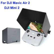 נייד טלפון SunHood עבור DJI מיני 2 / Mavic אוויר 2/2S מרחוק בקר מתקפל SmartPhone שמשיה אור בלוק Drone אבזר