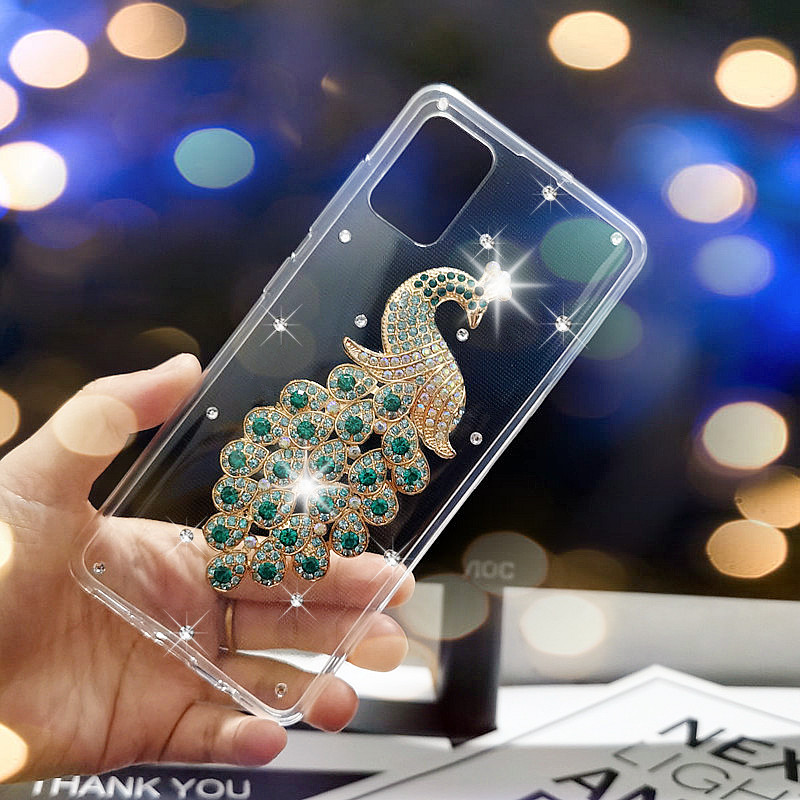 For Samsung Galaxy A51 Case Cover 3D Crystal Diamond Phone Case For Samsung Galaxy A71 SM A515F A715F A 51 71 A31 Cover