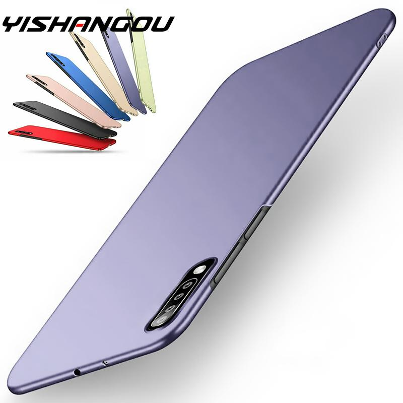Ultra Thin Matte Shockproof Slim Hard PC Cover For Samsung Galaxy Note 10 Plus 9 8 A70 A50 S10 S9 S8 S10E A9 A6 Plus 2018 Case