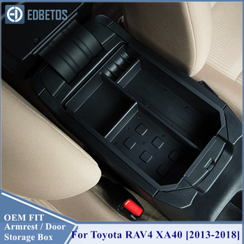 For Toyota RAV4 XA40 2013 2014 2015 2016 2017 2018 Accessories For Console Armrest Storage Organizer Toyota RAV4 Accessories image