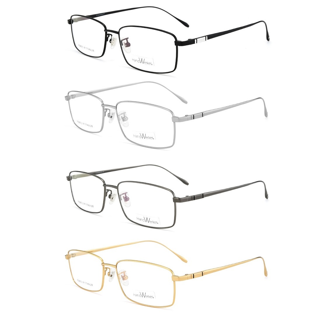 Zerosun Titanium <font><b>Glasses</b></font> <font><b>Men</b></font> Full Rim Man for Myopia/presbyopia Not Fade Spectacles for <font><b>Prescription</b></font> Brand <font><b>Progressive</b></font> Lens image