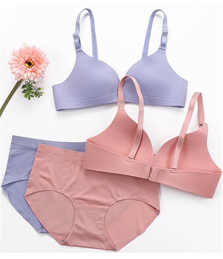 CINOON Sexy Gather Bras For Women Push Up Lingerie Seamless Bra Bralette Wireless Brassiere Female Underwear Intimates (16)