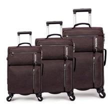 """Carrylove 2"""" 24"""" 2"""" дюймов мягкий водонепроницаемый чехол на колесиках для путешествий 3 штуки набор дорожных чемоданов на колесиках"""