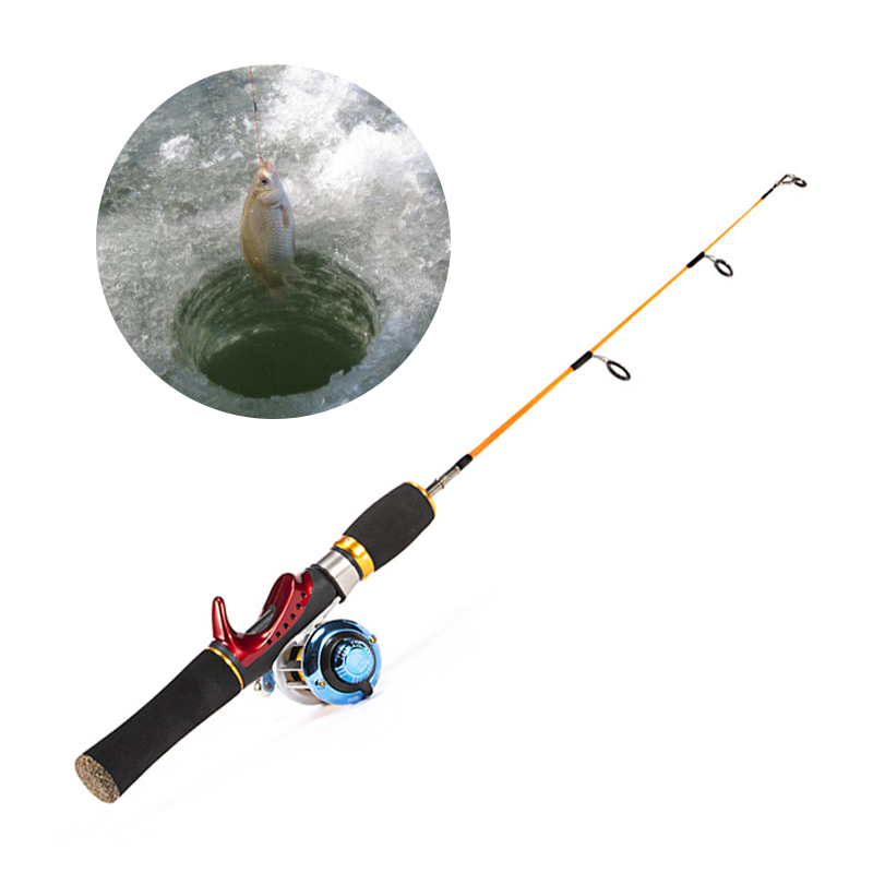 2020 New Ice Fishing Rod Winter Super Short FRP Carbon Fiber Lightweight Retractable Telescopic Pole For Freshwater Saltwater|Fishing Rods| - AliExpress