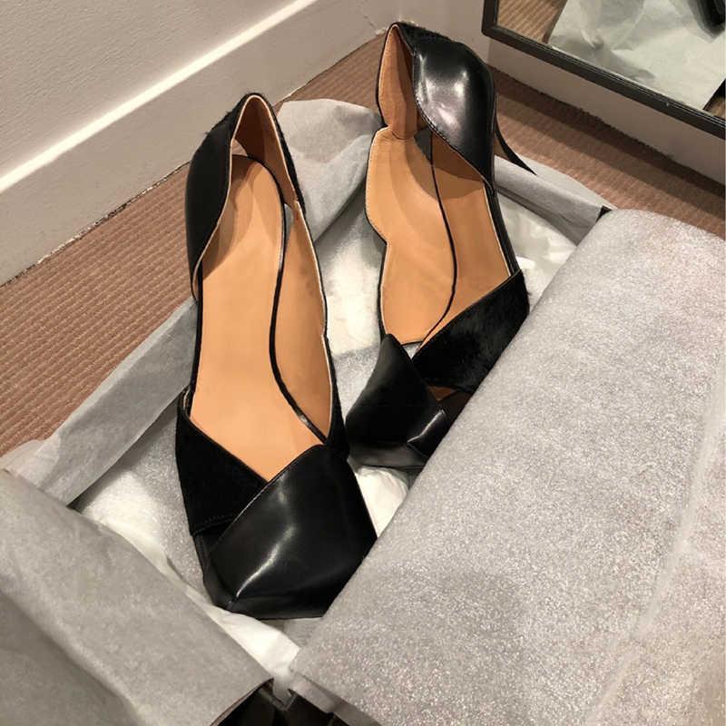 Hoge Hakken Schoenen Vrouwen Lente Vierkante Teen Pompen Vrouwen Hollow Sapato Feminino 2020 Dames Schoenen Mode Buty Damskie Sexy Schoenen