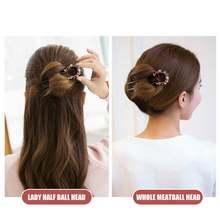 1 pcs hairpin maker hair tiara women retro cheongsam u shaped