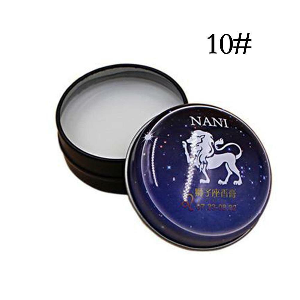 New Hot 12 Constellation Solid Perfume Portable Skin Fragrance Light Deodorants Antiperspirants Balm Body Care Perfume Roma C8G6