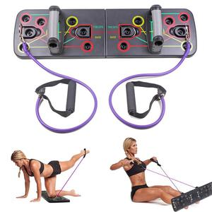 9 in 1 Push Up Rack Board Men Women Home Comprehensive Fitness Exercise Push-up Stands For GYM Body Training(China)