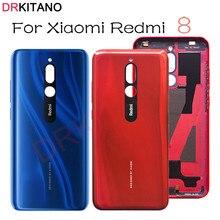 Drkitano Voor Xiaomi Redmi 8 Batterij Cover Terug Behuizing Achterklep Case Voor Redmi 8 Batterij Cover Mobiele Telefoon Vervanging onderdelen