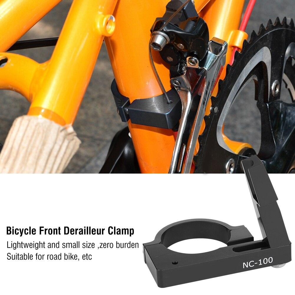 31.8//34.9mm Bike Cycling Lightweight Front Derailleur Braze-on Adapter Clamp  P