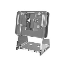 1 компл. Прозрачный акрил 5MP камера держатель прозрачный поддержка кронштейн чехол для Raspberry Pi 1-4 для V2 официальный камера