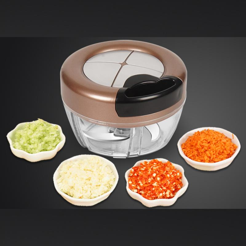 Manual Food Chopper Food Processor For Mixer Blender To Chop Meat Vegetable Fruit Nuts Onions Blender Mixer Slicer