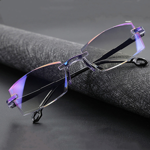 +1.0 To +4.0 2020 Anti Blue Light Reading Eyeglasses Magnification Eyewear Presbyopic Glasses Diopter Dimond Cutting