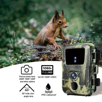 Mini Trail Hunting Camera  12MP 1080P Wildlife Forest Animal Cameras Wild Hunter Cam Mini600 Photo Trap Surveillance Tracking 5