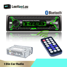 LeeKooLuu 1Din MP3 Jogador Rádio Do Carro Car Multimedia Player Bluetooth Rádio FM Auto AUX USB SD Autoradio Gravador De Cassetes Estéreo