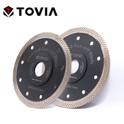 Tovia 115mm/125mm diamante circular viu lâminas de corte granito pedra porcelana telha cerâmica viu disco lâminas de serra fina