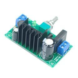 Новый Diy комплект Электрический Lm317 регулируемый регулятор напряжения понижающий модуль питания со светодиодной доска счетчика