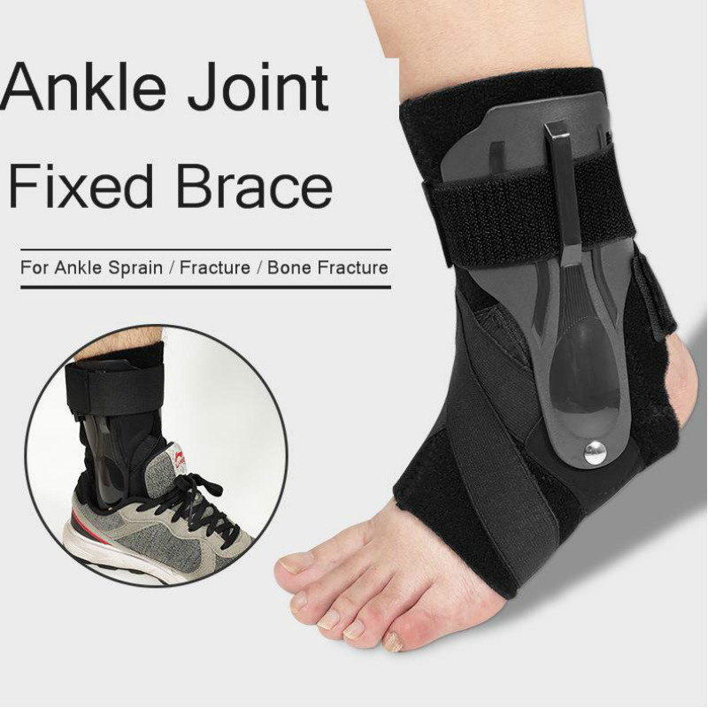 Ankle Support Brace Foot Splint Guard Sprain Orthosis Fractures Ankle Strap Wrap For First Aid Plantar Fasciitis Heel Pain 1Pcs