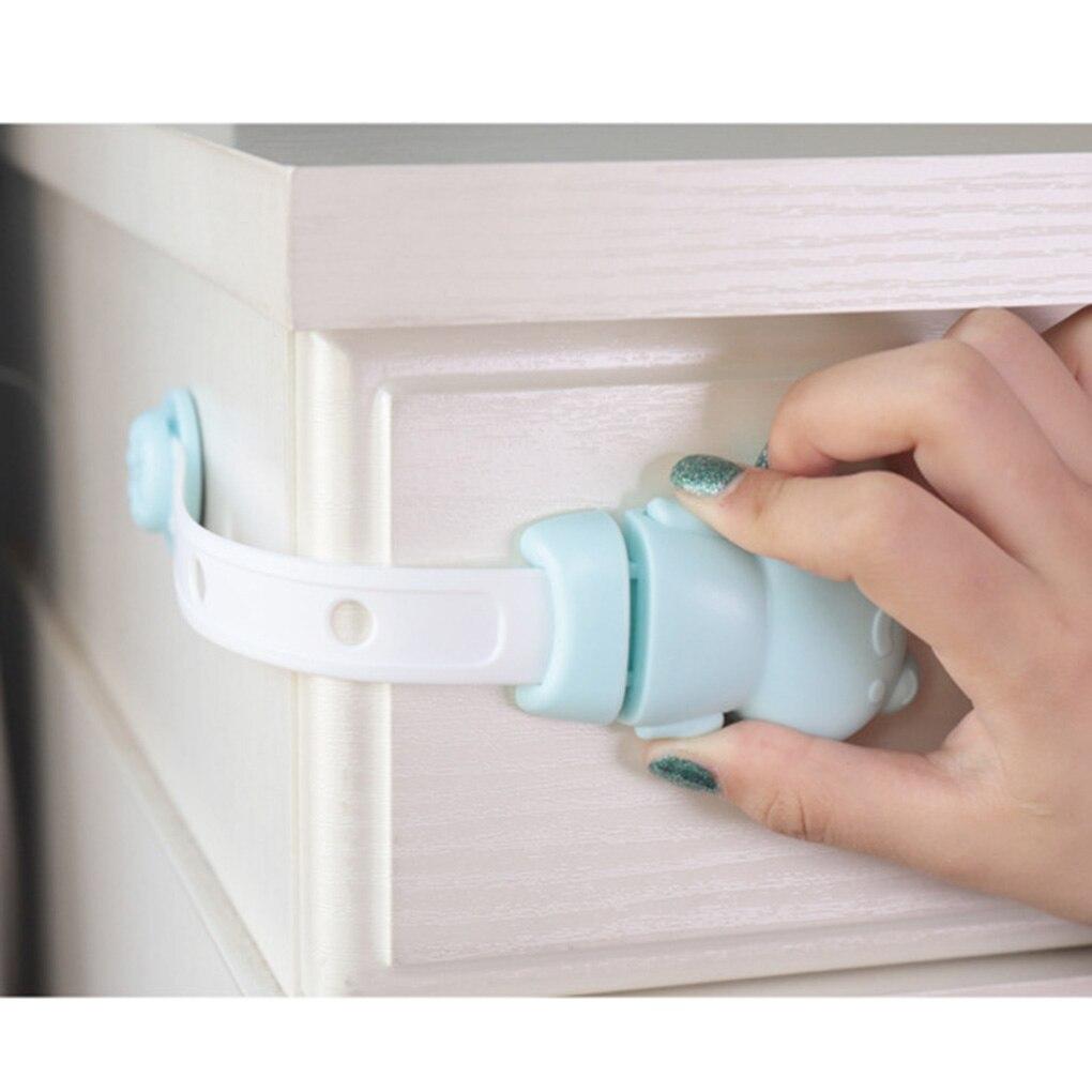 4 pièces/ensemble Anti-pincement bébé serrure de protection attraper tiroir armoire meubles bloqueurs enfants enfant coffre-fort tiroir serrure