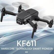 2020 Новый kf611 Дрон 4k hd широкоугольная камера 1080p wifi