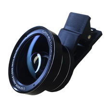 Professional HD phone Camera Lens Kit 0.63X 0.45 Wide Angle 15X 12.5x Macro smartphone Lens Mobile Phone lenses for xiaomi mi a1