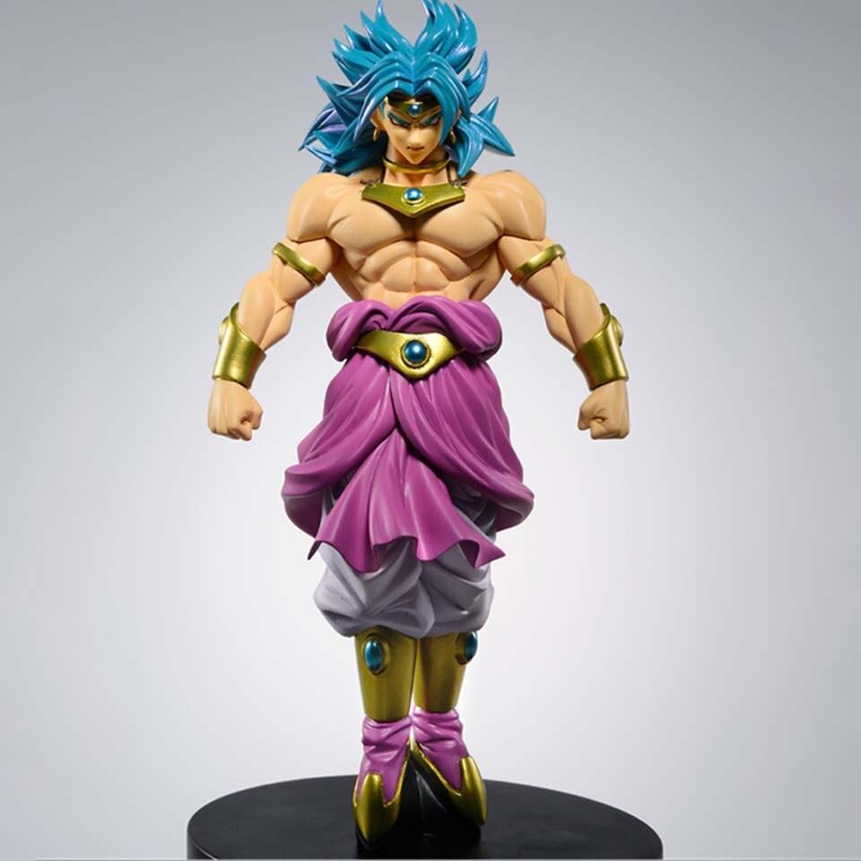 Dragon Ball Z Broli Broly Super Saiyan Standing Version PVC Action Figure DBZ Goku Fighting Collectible Model 22cm