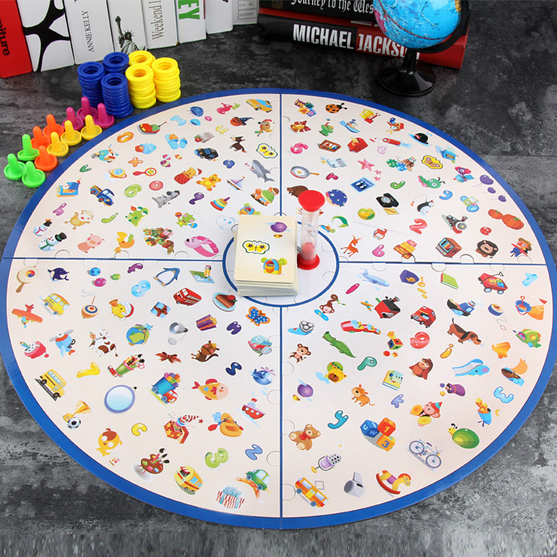 Little Detective Find Picture Game Parent-child Interactive Game Toy Improve Observation Concentration And Responsiveness