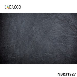 Laeacco Black Gradient Solid Color Dark Wall Surface Texture Pattern Photo Background Photography Backdrop Photostudio Photocall