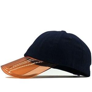 New cotton summer baseball cap for Girl snapback hat Transparent brim bone cap gorras casual casquette women baseball hat