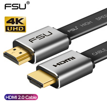 High Speed V2.0 HDMI Cable 4K*2K Male to Male 3D 1080P HD for Monitor Computer TV PS3/4 Projector HDTV 0.5m 1m 1.5m 2m 3m