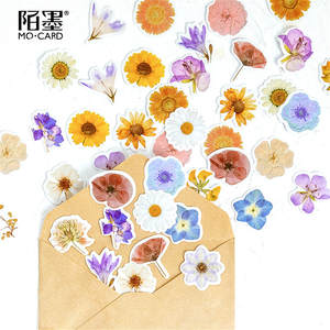 Paper Envelopes Sticker Mailers Bubble-Mailing-Bag Bags Flowers of 40pcs with Poetry
