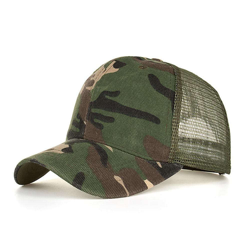 Camouflage Ponytail Baseball Cap 2020 Messy Bun Hats For Women Men Snapback Caps Casual Summer Sun Visor Outdoor Hat Gorras Casquette 5
