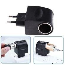 New 220V AC Plug To 12V DC Car Cigarette Lighter Converter Socket Adapter Vehicle Cigarette Lighter Plug Car Auto Accessories