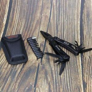 Image 5 - الصانع بالجملة GB Gebo الفولاذ المقاوم للصدأ EDC أدوات في الهواء الطلق لتقوم بها بنفسك متعددة الأغراض كماشة