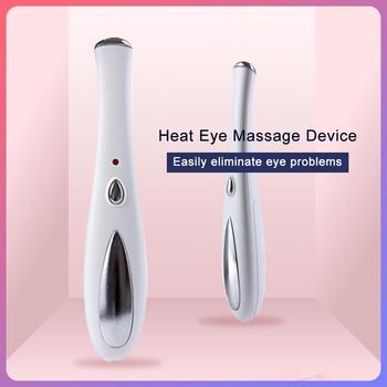 MISMON Portable Eye Massager Electric Vibration Anti-wrinkle Ultrasonic Eye Care Beauty Pen Device Ion Relief Dark Circle Tool недорого