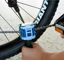 Bicycle Chain Cleaner Bike Clean Machine Brushes Scrubber Wash Tool Mountain Cycling Cleaning Kit Outdoor Sports цена