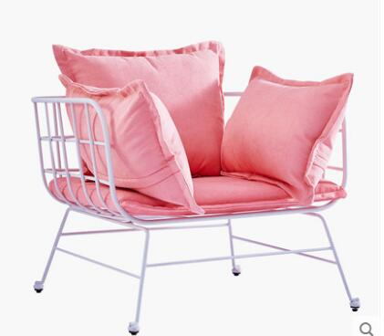 Tie Yi Sofa Contracted Atelier Clothing Store Sofa Lazy Person Web Celebrity Small Sofa Nordic Sofa Chair