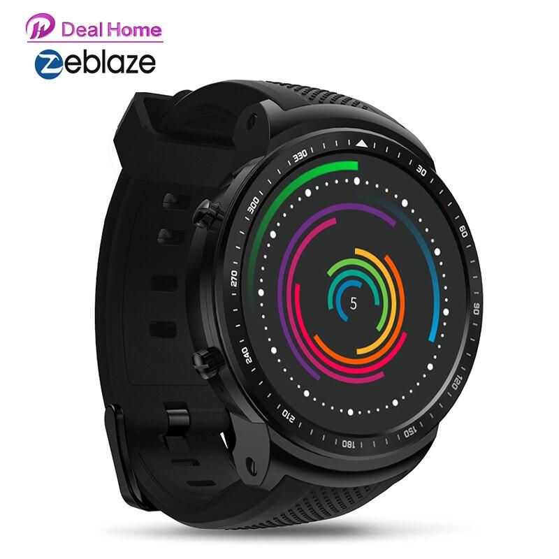 Zeblaze Thor PRO 3G GPS Smartwatch, 1,53 дюйма, Android 5,1, MTK6580, 1,0 ГГц, 1 Гб + 16 ГБ, умные часы, BT 4,0, носимые устройства