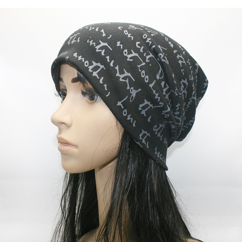 Fashion winter hip hop alphabet headgear European and American stacked headgear fashion couple headgear hip hop headgear in Men 39 s Skullies amp Beanies from Apparel Accessories